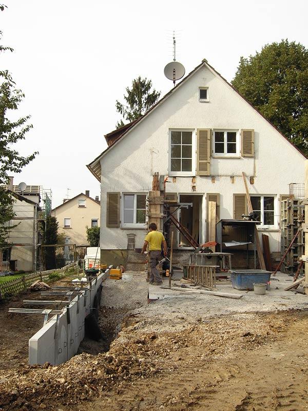 Berühmt Komplettsanierung - Einfamilienhaus - Holz und Haus Würtingen NW17