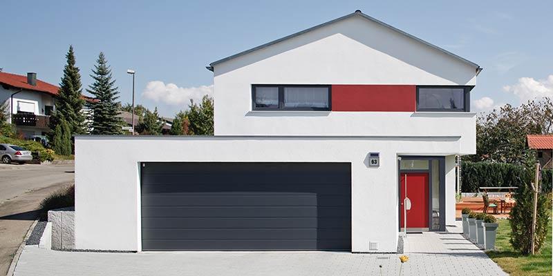 neubau einfamilienhaus mit garage ostseesuche com. Black Bedroom Furniture Sets. Home Design Ideas